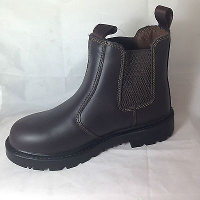 Free post black steel toe #midsole dealer boots work #safety #chelsea non mark so,  View more on the LINK: http://www.zeppy.io/product/gb/2/231289765593/
