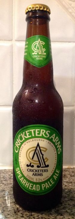 Beer 242 - Cricketers Arms Spearhead Pale Ale. Australia