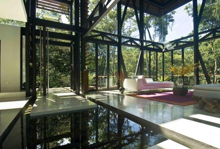 MC1 Nature-Friendly Luxury House in Costa Rica: Interior, Dream House, Living Room, Costa Rica, Architecture, Modern House, Design