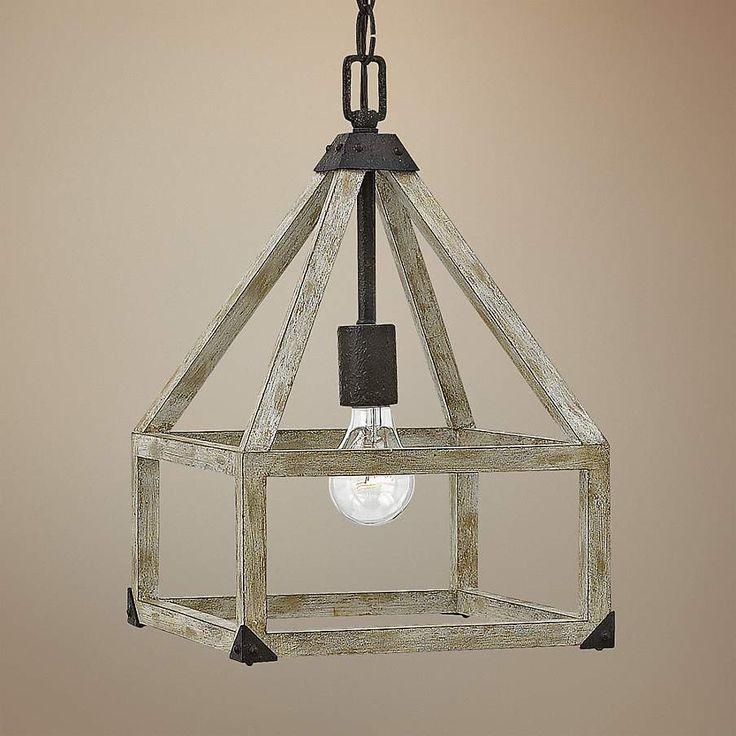 "Fredrick Ramond Emilie 10"" Wide Iron Rust Mini Pendant - #7W765   Lamps Plus"