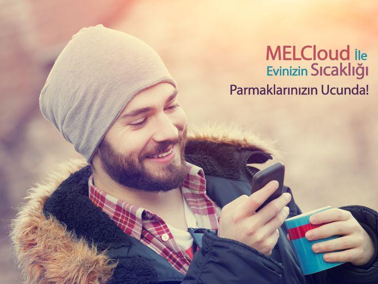 #MELCloud teknolojisi ile evinizin sıcaklığının kontrolü parmaklarınızın ucunda! #MitsubishiElectricKlima www.klima.mitsubishielectric.com.tr #mitsubishielectric #klima #hvac #ac #kış #winter #smart #phone #app #sıcaklık #cool #home #house #uygulama #enerji #energy #airconditioner #yaşam #lifestyle #cloud #web