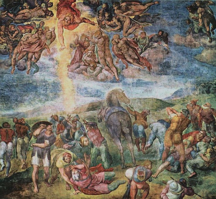 Michelangelo, Conversione di Saulo
