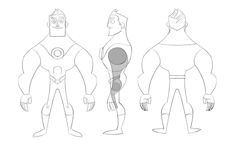 Cartoon Character Design Sheet : Character modelsheet by jfsouzatoons viantart on
