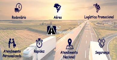 A&T Transportes - Sua Carga com segurança e agilidade.