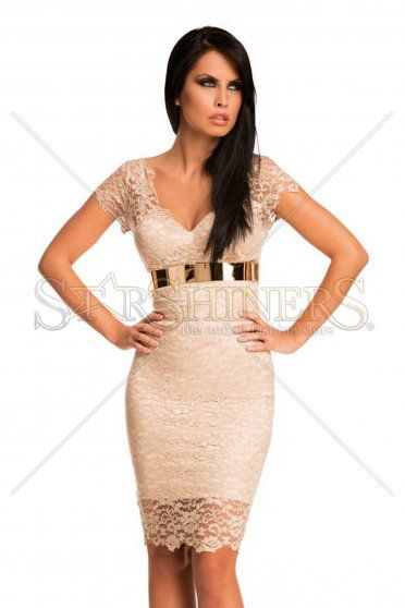 Rochie Mexton Exquisite Look Cream