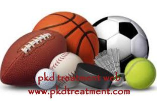 Can my child with ARPKD play sports? Patients with ARPKD can play sports in daily life, but they need to take notice of the below things:  Sports which are strong and have body contact should be avoided for patients with ARPKD, because kidney cyst can be damaged or rupture with outside crashes. For some children who have large cysts, maybe running also makes them get uncomfortable, thus, running should be avoided for large cyst patients.