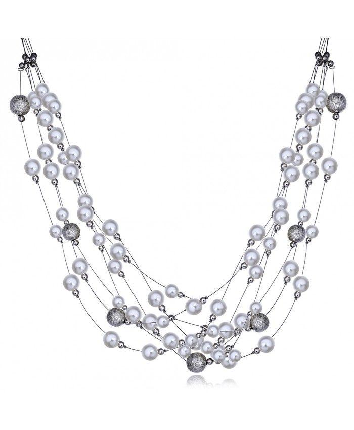 Charm Vintage Womens Pendant Chain Crystal Choker Chunky Collar Necklace