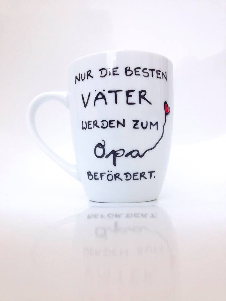 Mugs & Cups – ♥ cup ♥ for dad and grandpa ♥ gift grandpa daddy – a unique product by Hoch-Die-Tassen on DaWanda