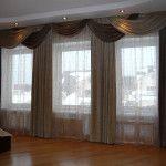 Шторы для гостиной - красивые фото дизайна штор, идеи и советы по выбору