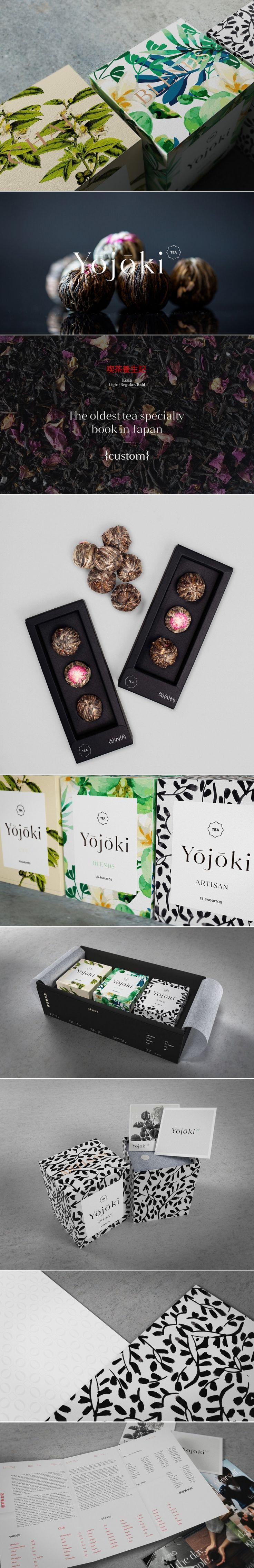 Yojoki tea — The Dieline - Branding & Packaging Design