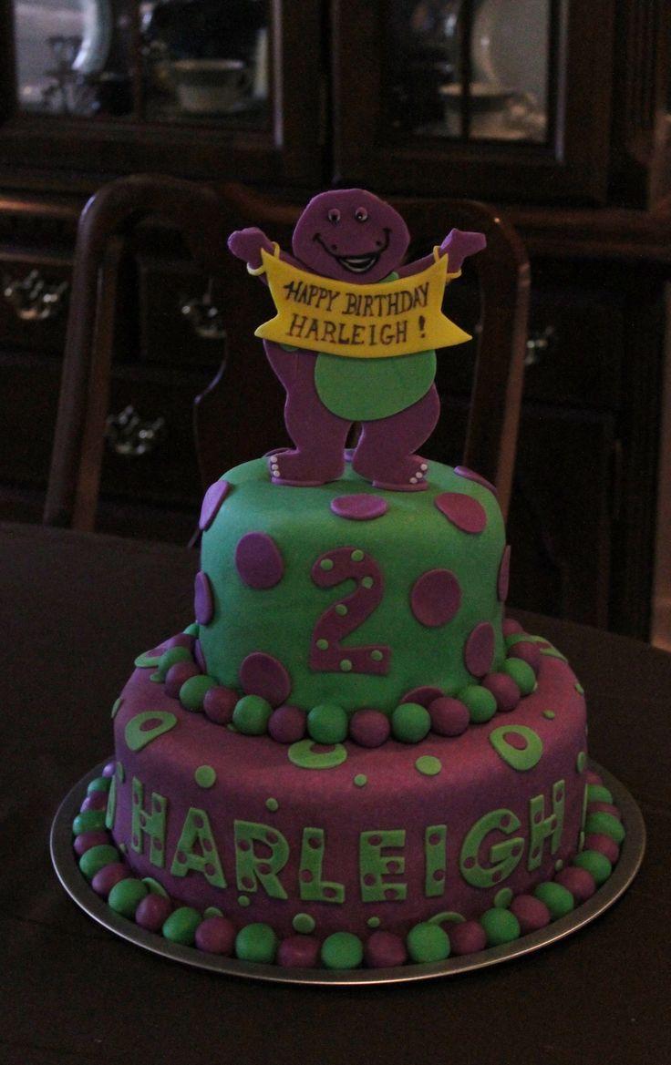 Children's+Birthday+Cakes+-+Barney