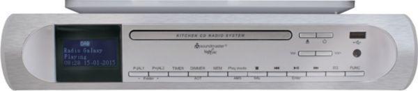 Soundmaster UR2170SI CD/MP3 Musik-Center Unterbau mit DAB+/PLL-Radio mit USB in
