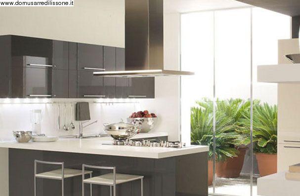 Cucina con penisola Veneta cucine Arredamento Cucina Pinterest - nobilia küchen qualität