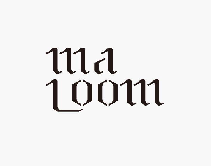 ma loom ロゴ | homesick Design