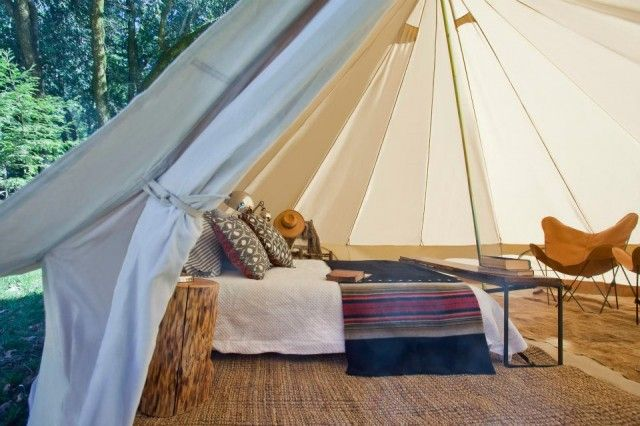 Camping Gets Glamorous: Shelter Co. in California : Remodelista