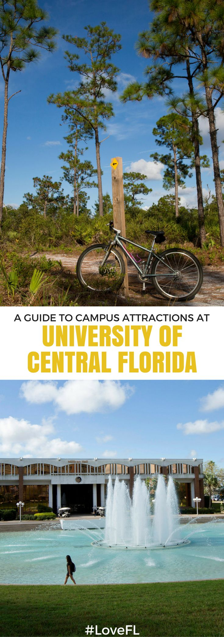 A Guide to Campus Attractions at the University of Central Florida   #Florida #College #Travel #UCF
