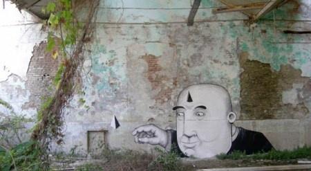Street Art made in Italy, part III: SEACREATIVE. La fantasia. « streetaporter