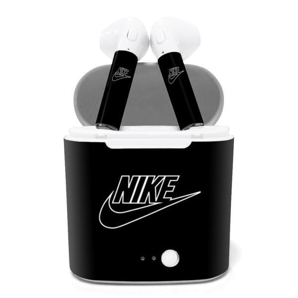 Por ahí trama Roux  Nike AirPods - Hawkris Store | Wireless earphones, Nike, Bluetooth device