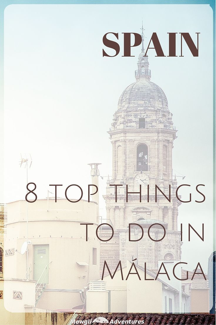 8 of the top things to do in Málaga including the best sights, museums and day trips from Málaga. If you're visiting Spain, Málaga is a city for you!