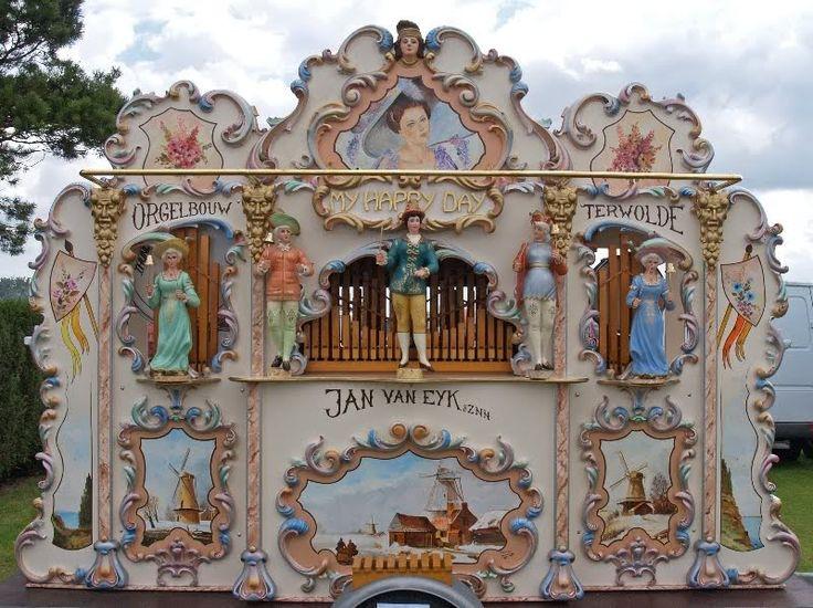 Jan Van Eyk 51 Key Draaaiorgel