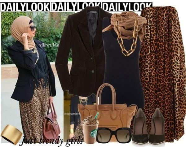 classic hijab look, Hijab spring street styles http://www.justtrendygirls.com/hijab-spring-street-styles/