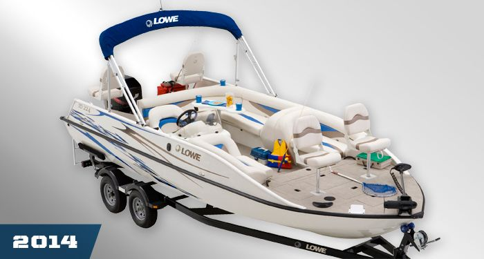 Lowe Boats SD224 Sport Deck: The Aluminum Deck Boat, Fishing Deck Boats : 2014