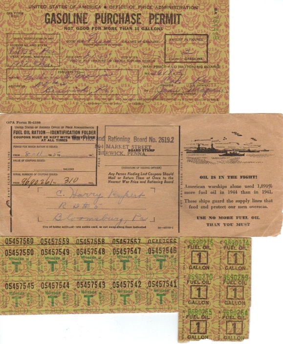 War Rationing » The 1940's • 1940-1949 • Every thing was rationed