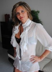 Hot cougar private casting x