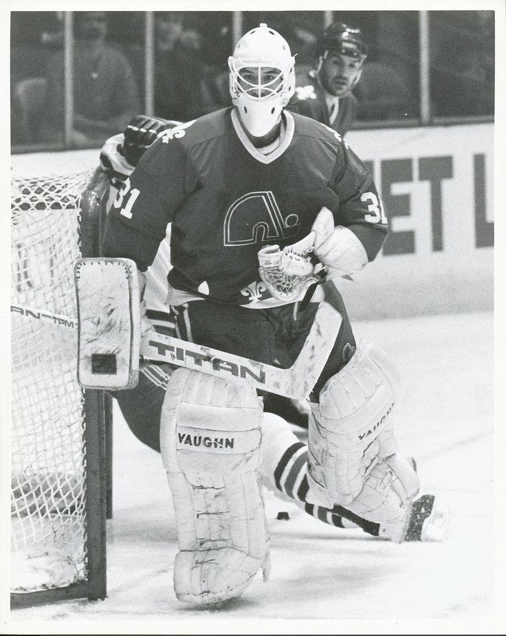 1989 Stephane Fiset Quebec Nordiques
