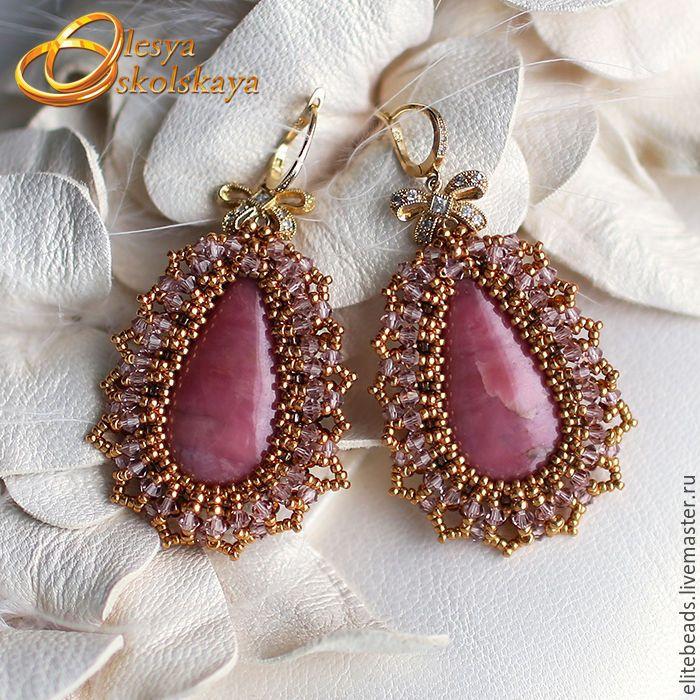 Купить №135 - Серьги Барокко / Baroque - золотой, старинный стиль, винтажный стиль