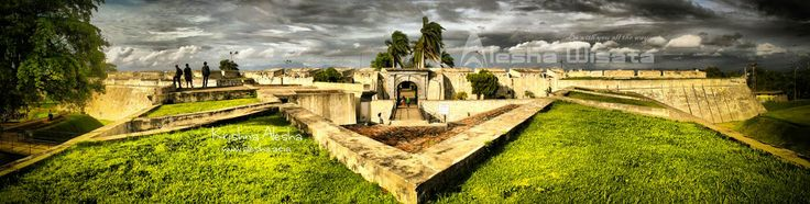 Fort Marlborough Bengkulu - The Largest British Fort in SouthEast Asia