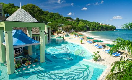 I want to go back to St. Lucia Sandals Resort...it was the best place I ever went!!!