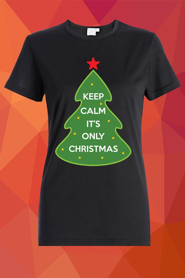 Keep Calm It's Only Christmas T-Shirt  https://www.spreadshirt.com/keep-calm-it-s-only-christmas-A103898036/vp/103898036T813A2PC1015501742PA1667PT17#/detail/103898036T813A2PC1015501742PA1667PT17