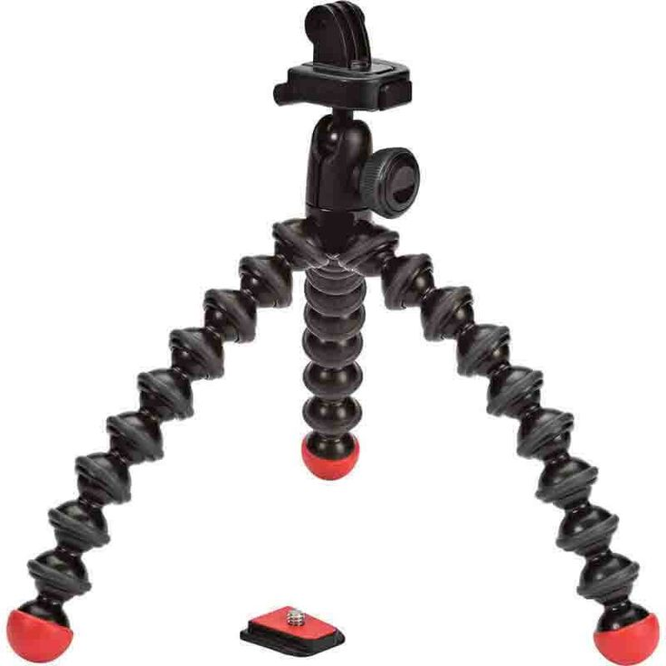 Joby GorillaPod Action Tripod with GoPro Mount - There is no doubt at all that this is a really cool gadget and so, if you own a GoPro or other action camera, you really should also own the Joby GorillaPod Action Tripod.