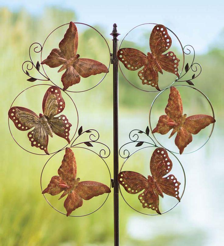 13 best Wind Spinners images on Pinterest   Backyard ideas, Garden ...
