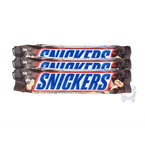Snickers (Pack of 3) – Mars Chocolate Australia – 53g x 3 | Shop Australia
