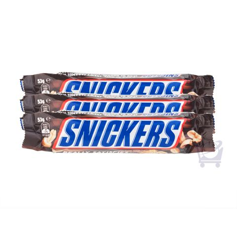 Snickers (Pack of 3) – Mars Chocolate Australia – 53g x 3 | Shop Australia