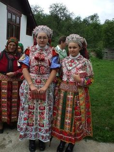 Traditional Hungarian Dress