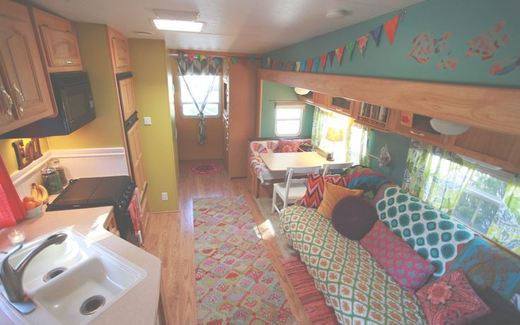 Really cute camper redo...same layout as my trailer.