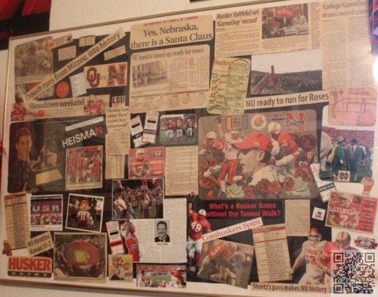 7. #Journal Scrapbook - 13 #pièces de College #Football souvenirs pour tout #Fan... → #Lifestyle