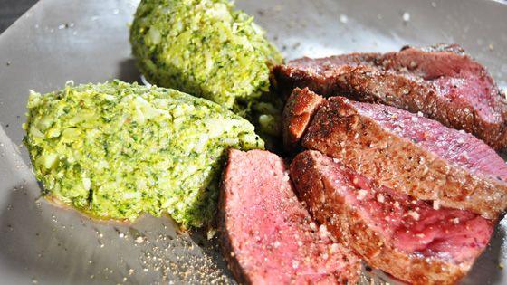 Tournedos van rundsvlees met brocolli Pascale Naessens