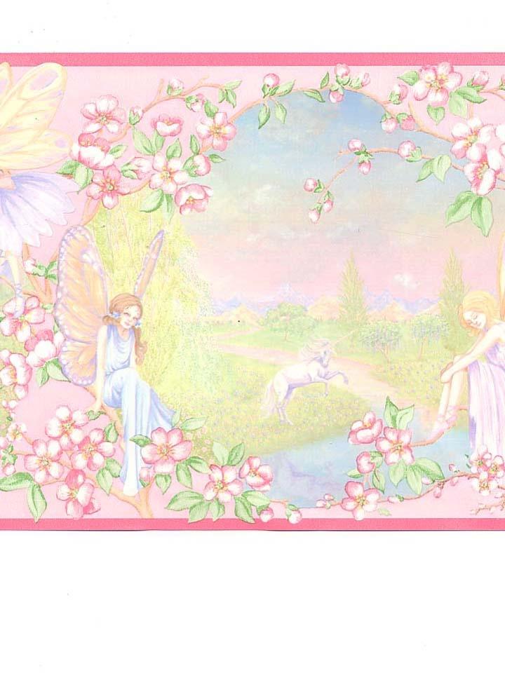 Fairies and Unicorns border A Jumble of stuff for Julia