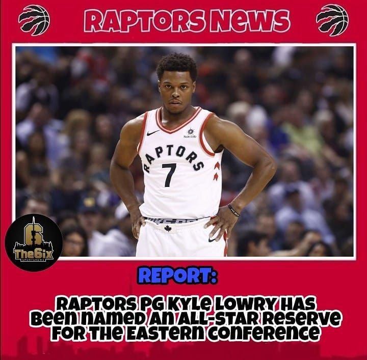 REPORT: Raptors PG Kyle Lowry will not play has been named as an all-star reserve for the Eastern conference. . . . . #warriors #nba #basketball #nyknicks #knicks #raptors #torontoraptors #celtics #bostonceltics #sixers #philadelphiasixers #nets #lbj #playoff #heatnation #letsgoheat #ilovethisgame #slam #court #myteam #rockets #ballers #buckets #baloncesto #streetball #ballup #nbamemes #pelicans #hornets #mavericks