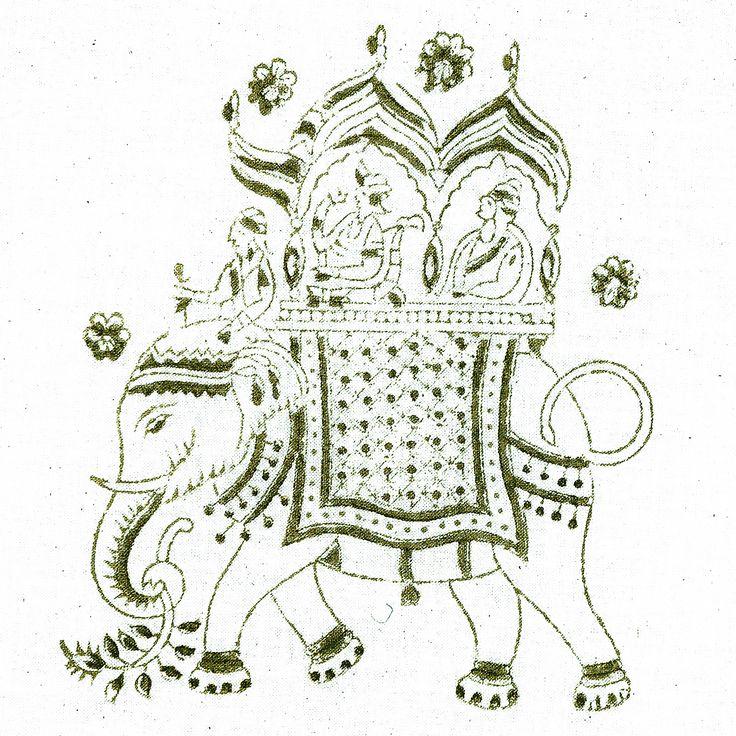 #035 Elephant | Les Indiennes