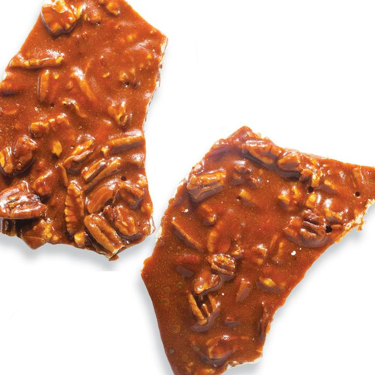 Crunchy pecan pie brittle —perfect for ending the meal