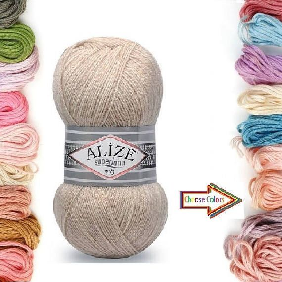 Check out this item in my Etsy shop https://www.etsy.com/listing/527506341/alize-superlana-tg-knitting-yarn-wool