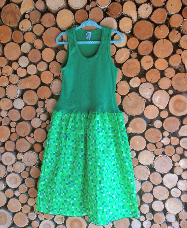 Summer dress girl 8 bit