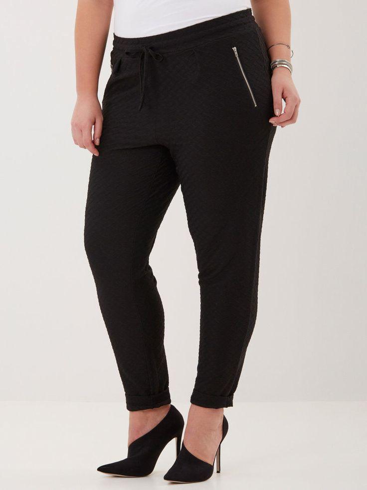 Super seje Flotte sorte leggings i økologisk bomuld Junarose Modetøj til Damer til hverdag og fest