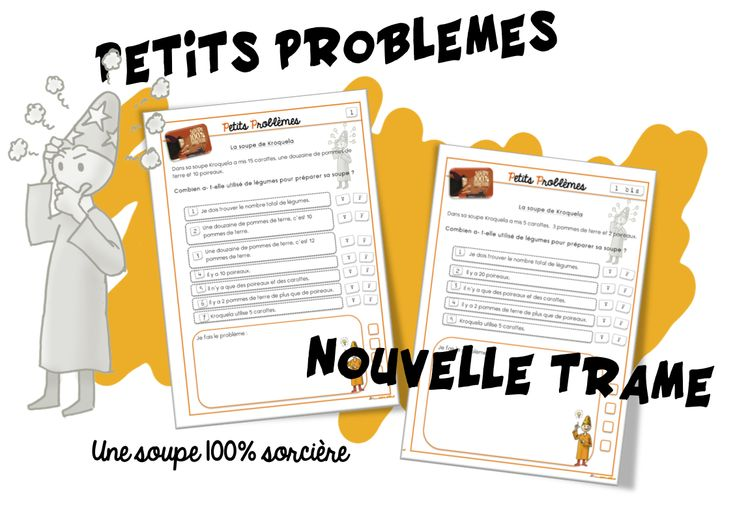 petits problèmes (nouvelle trame)