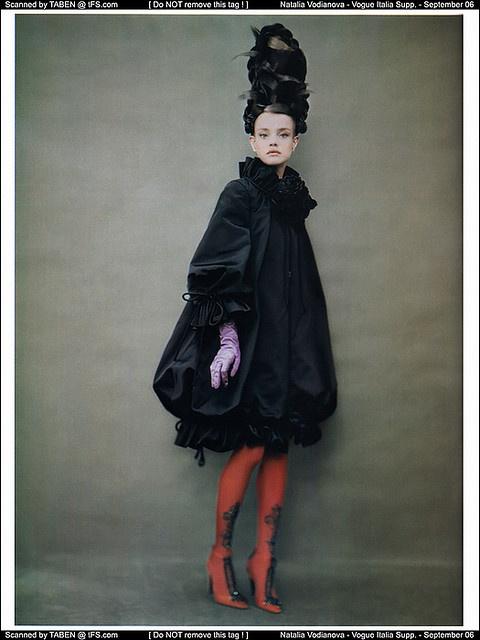 Natalia Vodianova in Vogue
